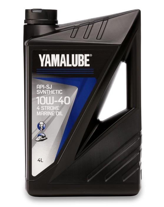 Четиритактово масло YAMALUBE Marine 4 10W-40 YMD6306004, създадено, тествано и одобрено от YAMAHA Marine