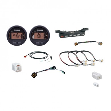 Уред YAMAHA Tach & Speed Kit двоен кръгъл - 6Y8W0035E200