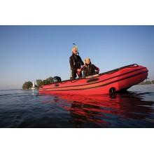 Лодка MERCURY 365 HEAVY DUTY XS PVC, ЧЕРВЕН - AA380107M