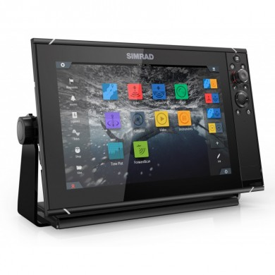 SIMRAD NSS9 EVO3 COMBO MFD,WORLD BASEMAP / Само Екран 9