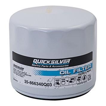 Маслен филтър Quicksilver - За всички MCM/MIE GM двигатели - 35-866340Q03