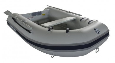 Лодка MERCURY 220 AIRDECK PVC, СВЕТЛО СИВ - AA240130M