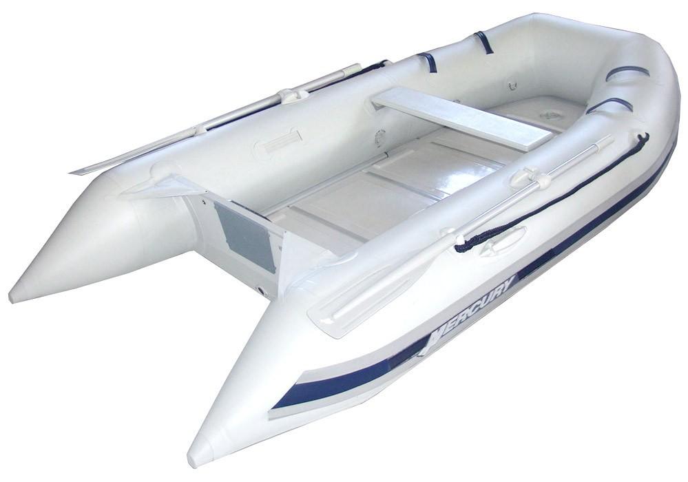 Лодка MERCURY 290 SPORT - ПЛАСТМАСОВ ПОД PVC, СВЕТЛО СИВ - AA310127M