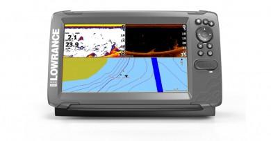 LOWRANCE Hook2-9 Combo Сонар и GPS със TripleShot сонда с широк лъч 200 kHz/Hi Chirp/455/800 kHz / БГ меню