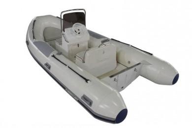Лодка MERCURY RIB 460 OCEAN RUNNER PVC, СВЕТЛО СИВ - AA460007M