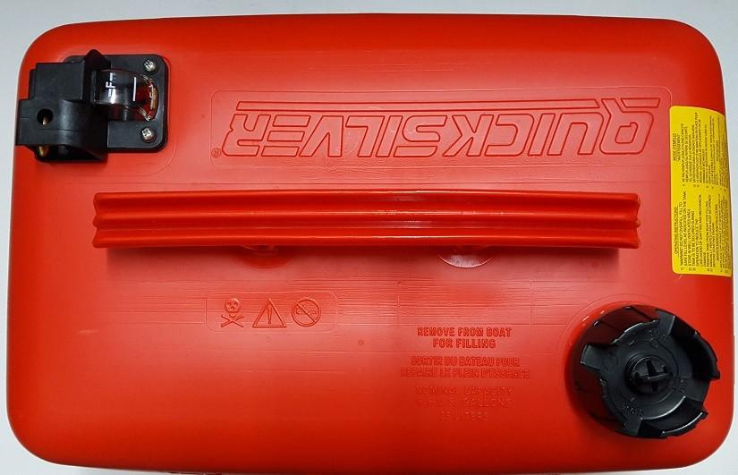 Резервоар за гориво QUICKSILVER с нивомер, 25 литра - 8M0083451
