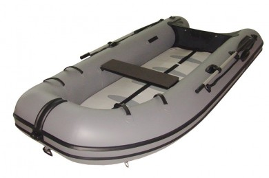 Лодка MERCURY 320 AIRDECK FISH PVC, ТЪМНО СИВ - AA320026M
