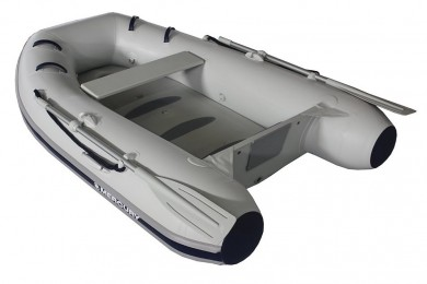 Лодка MERCURY 250 AIRDECK PVC, СВЕТЛО СИВ - AA270129M